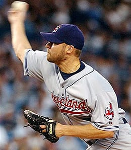 Jake Westbrook is getting great support from the Cleveland Indians.