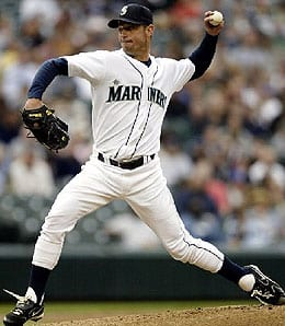 Jamie Moyer hasn't had much luck for the Seattle Mariners.