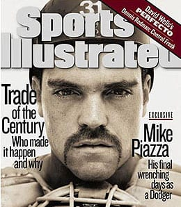 Mike Piazza is having a big comeback season for the San Diego Padres.