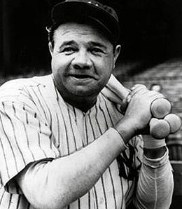 Ruth  but it s the Babe Babe Ruth Yankees