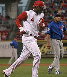 Cincinnati Reds second baseman Brandon Phillips enjoyed a breakthrough season in 2006.