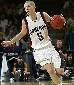 Gonzaga Bulldogs point guard Derek Raivio stepped forward as a leader this season.