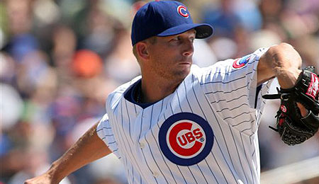 Chicago Cubs starting pitcher Wade Miller has benefited from Mark Prior's misfortune.
