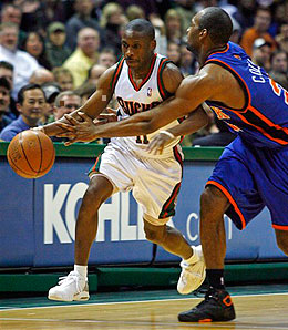 Milwaukee Bucks guard Earl Boykins will have a major role for the rest of the season.