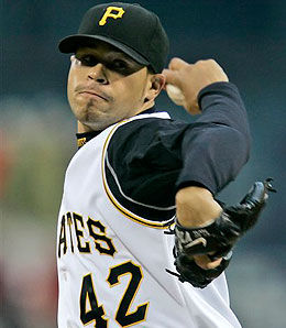 Pittsburgh Pirates starter Ian Snell is looking like an ace.