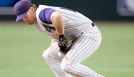 Arizona Diamondbacks third baseman Chad Tracy has landed on the DL.