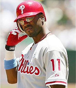 Philadelphia Phillies shortstop Jimmy Rollins is having another fantastic season.