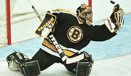 Byron Dafoe was probably the last good Bruin goalie.