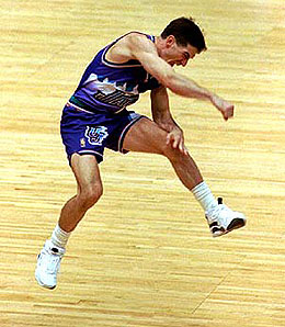 John Stockton starred for the Jazz for years.