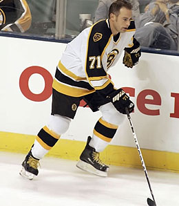 Marc Savard can't be stopped.