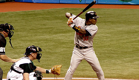 Miguel Tejada has taken his act to Houston.