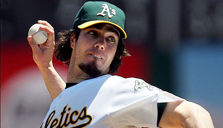 Dan Haren was dealt by the A's this offseason.