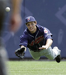 Will Grady Sizemore take home hardware in 2008?