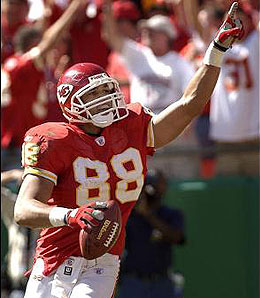 Tony Gonzalez is still the man in KC.