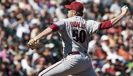 Chad Qualls has been anything but dominant for the Arizona Diamondbacks.