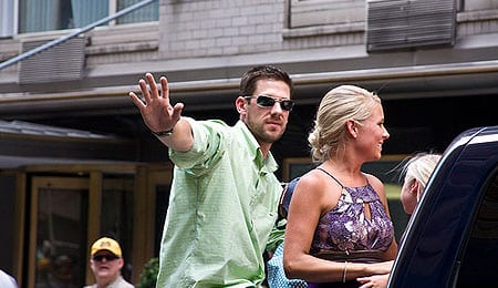 The Philadelphia Phillies acquired 2008 AL Cy Young winner Cliff Lee.