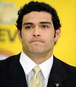 Mark Sanchez will be starting for the New York Jets.