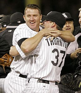 Matt Thornton is enjoying another excellent season for the Chicago White Sox.
