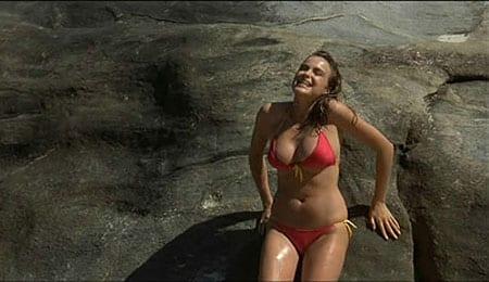 Michelle Johnson was quite the little hottie in Blame it on Rio.