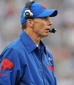 Dick Jauron has his work cut out for him as coach of the Buffalo Bills.