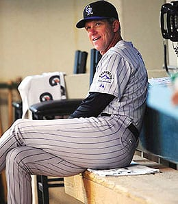 Jim Tracy has done a great job with the Colorado Rockies.