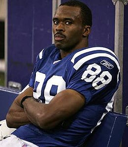 Marvin Harrison had a hell of a career with the Indianapolis Colts.