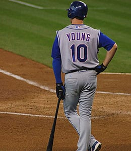 Michael Young will be missing in action for the Texan Rangers for the next couple of weeks.