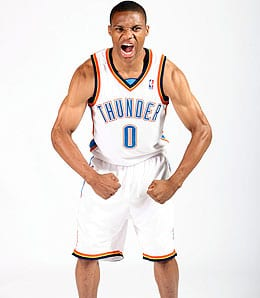 Russell Westbrook is almost ready to lead the Oklahoma City Thunder to the next level.