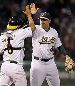 Andrew Bailey had a brilliant rookie season for the Oakland A's.