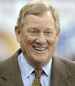 Indianapolis Colts president Bill Polian helped give QBs the advantage.
