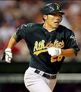 Kurt Suzuki enjoyed a big year for the Oakland A's.