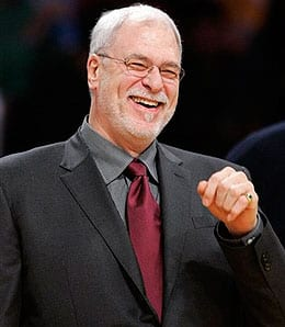 Phil Jackson will be gunning for another title for the Los Angeles Lakers this season.