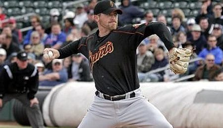 Brad Hennessey had a brief run of usefulness for the San Francisco Giants.