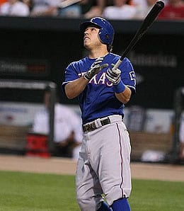 Ian Kinsler had another great year for the Texas Rangers.