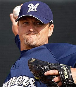 Trevor Hoffman will be closing for the Milwaukee Brewers again.