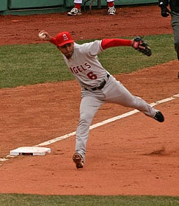 Maicer Izturis is a valuable role player for the Los Angeles Angels.