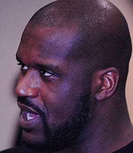 Shaquille O'Neal is hurting for the Cleveland Cavaliers.