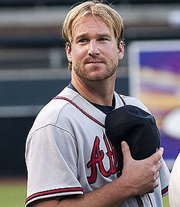 Derek Lowe suffered his first loss for the Atlanta Braves.