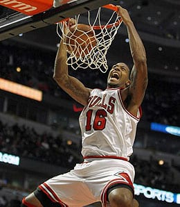 James Johnson dealt with injury issues for the Chicago Bulls.