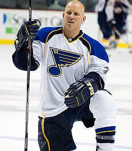 Keith Tkachuk is retiring from the St. Louis Blues.