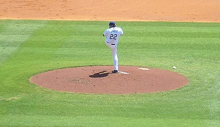 Matt Garza is off to a fantastic start for the Tampa Bay Rays.