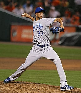 Juan Cruz got the heave-ho by the Kansas City Royals.