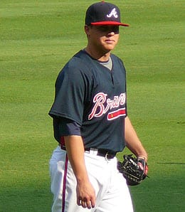 Kris Medlen is looking strong for the Atlanta Braves.
