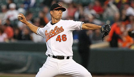 Jeremy Guthrie has been on a roll for the Baltimore Orioles.