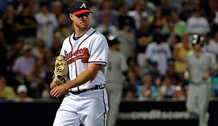Jonny Venters has been extremely sharp for the Atlanta Braves.