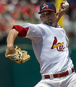 Jaime Garcia gaves the St. Louis Cardinals a superb No. 3 starter.