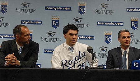 Eric Hosmer will soon be mashing for the Kansas City Royals.