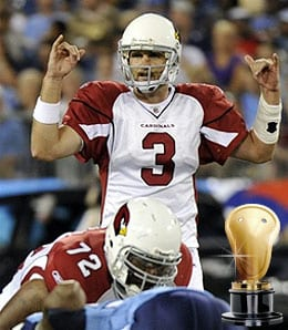 Derek Anderson went berserk for the Arizona Cardinals.