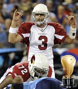 Derek Anderson went berserk for the Arizona Cardinals.