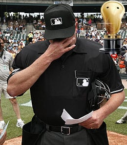 Jim Joyce sure screwed Armando Galarraga.